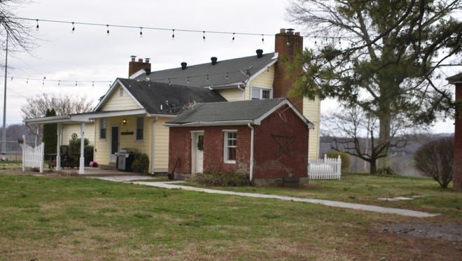 The Leeland Homestead, located in Ashland City on land dubbed Leeland Station, was built in 1811 by one of the area's early settlers. Though there have been some upgrades to the historic home, original features including cedar logs and the original smokehouse still stand.
