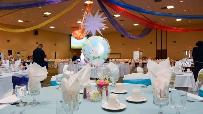 Fort Bliss will have its annual Easter brunch at the Centennial Club on April 1. The event is open to the public, but reservations are required.