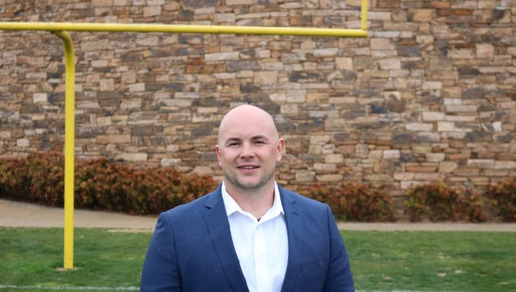 Christ School has named Tommy Langford as its new head football coach. Photo courtesy of Christ School/Bobby Long