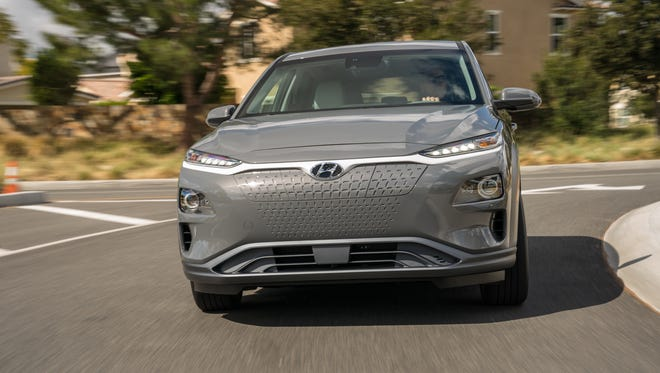 Hyundai's Kona EV has an electric range of 250 miles