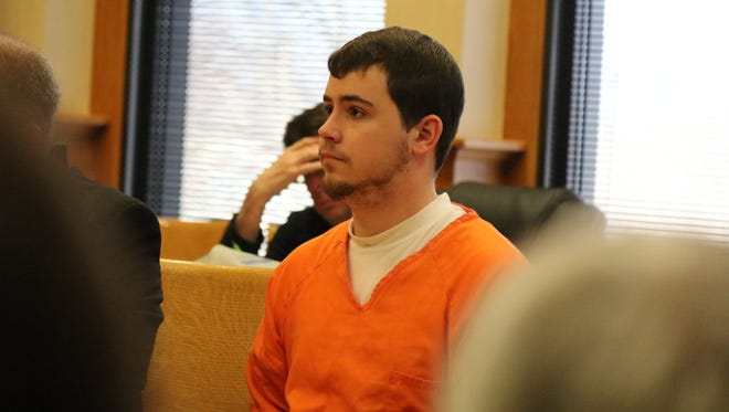 Benjamin Jacks, a former Genoa Police officer, admitted to having a sexual relationship with a 17-year-old female.