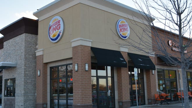 Burger King restaurant at the Shoppes at Fox River center in Waukesha stands ready for customers shortly after its opening in December 2016