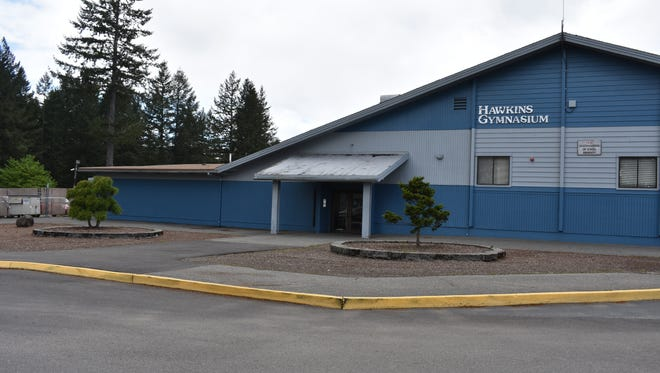 The former Hawkins Middle School gym at North Mason School District will be partially converted into a health care clinic. Peninsula Community Health Services will staff the clinic next school year with one nurse practitioner.
