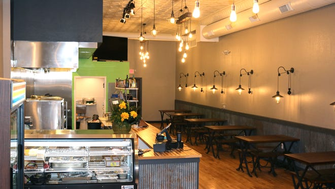 The interior of MoJo's Pasta House & Cajun Cook Shack after renovations were made. The restaurant is one of the businesses taking part in the Downtown Destination giveaway that is ongoing in Marshfield.