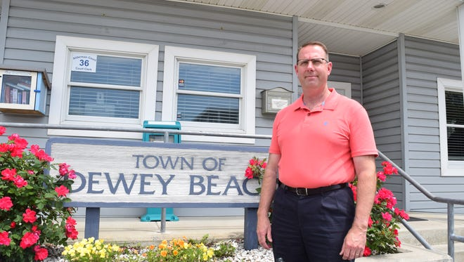 Scott Koenig is Dewey Beach's new town manager.