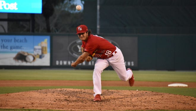 If his success on the mound in 2018 wasn't proof enough, maybe Austin Warner's recently earned Florida State League Player of the Week award will sway doubters.