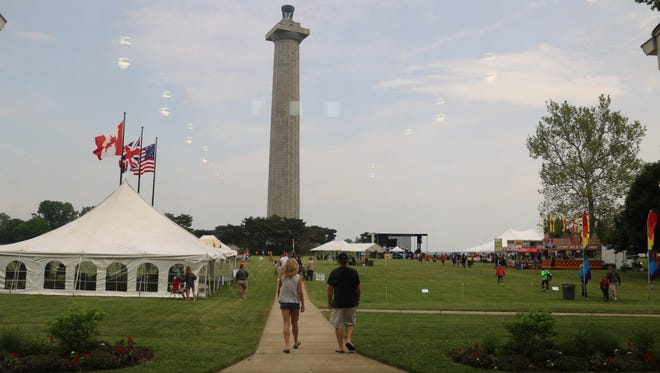 The Perry's Victory and International Peace Memorial hosted the 2018 Put-in-Bay Music Festival in June.