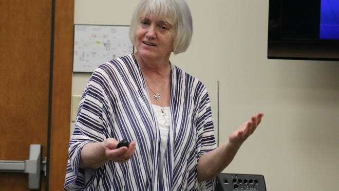 """Sharon Browning, an educator and longtime attorney for the marginalized based in Philadelphia, now travels the country providing """"JUST Listening"""" workshops."""