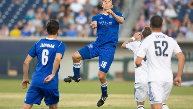 Reno 1868 FC beat Real Monarchs, 3-0, on Tuesday at Greater Nevada Field in the team's most impressive performance of the season.