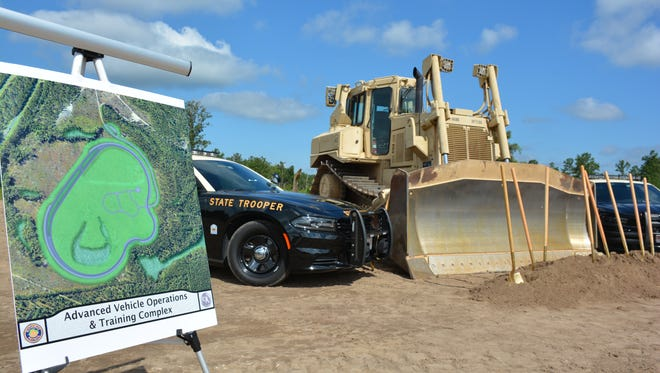 A 1.4-mile track will give law enforcement officials a place to practice high-speed highway condition training exercises.