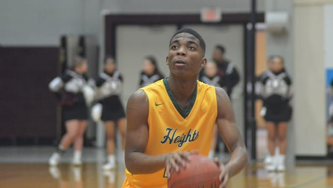 University Heights Academy standout KyKy Tandy is a 2019 four-star prospect signed to play at Xavier. UHA will play Reitz in the Bosse Winter Classic on Saturday.