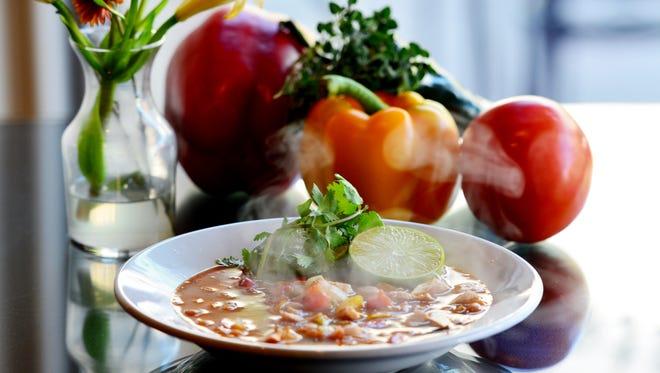 White Bean Chicken Chili at Four Seasons Market & Eatery