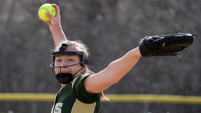 With the help of senior pitcher Alyssa Vilkoski, Greenfield maintained its spot as the area's top-ranked team.