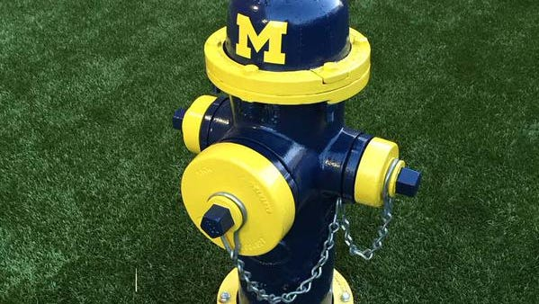 Michigan fire hydrant at OSU vet school
