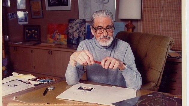 Ted Geisel, AKA Dr. Seuss.