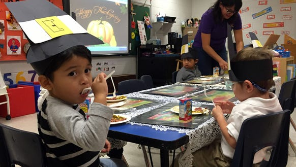 Students in a class at O'Shea Keleher Elementary School