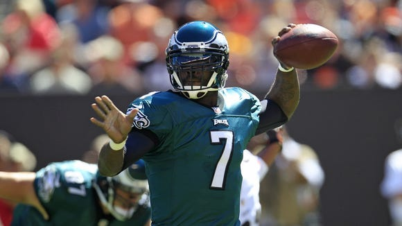 Michael Vick lost his starting job to Nick Foles during this past season.