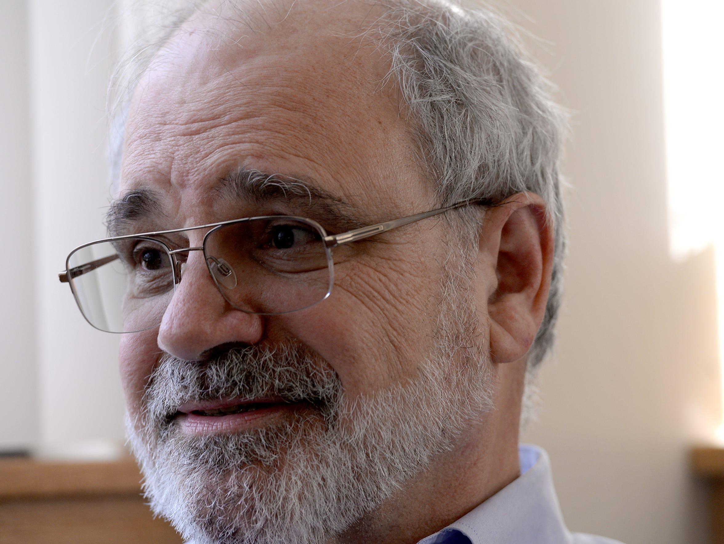Dr. Ralph Harvey talks about writing prescriptions