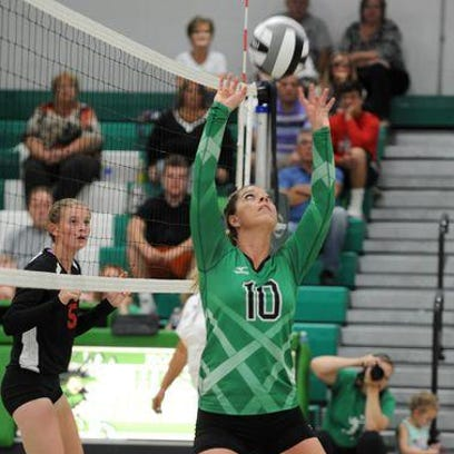 Huntington senior Dylana Gragg has been on a sizzling