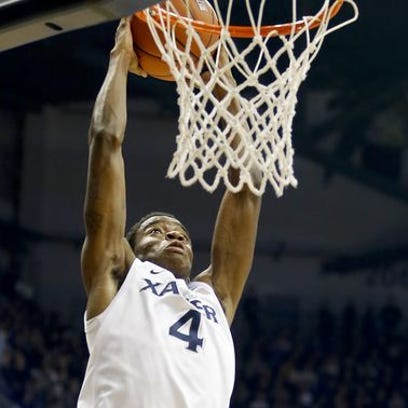 Xavier point guard Edmond Sumner on Monday was named