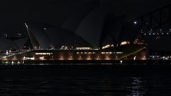 Australia's iconic Sydney Opera House before and after