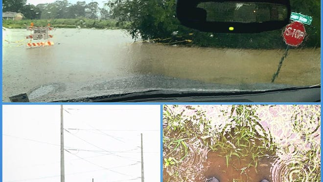 Historic flooding in Louisiana