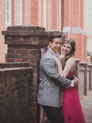 Elizabeth Audrey Keenan and Christof Chiu Smith, pictured in Taipei, Taiwan, are to be married Saturday in Northville.