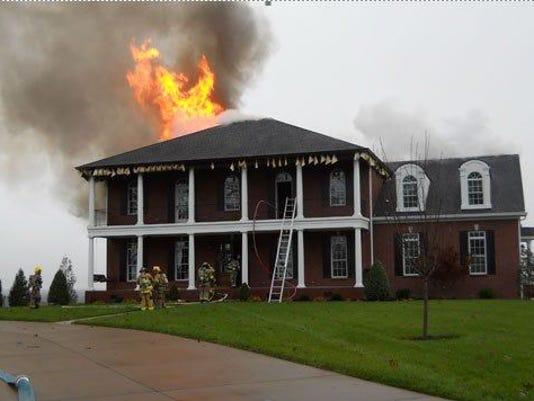 Lascassas house fire