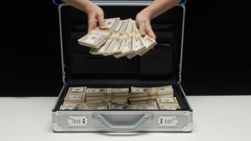 """What do you picture when you hear the word """"millionaire?"""""""