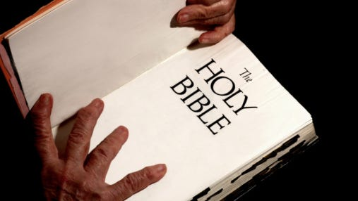 The Bible file photo