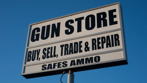 gun store sign