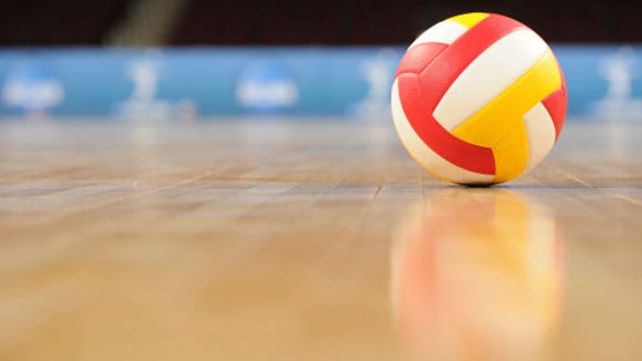 ADN Volleyball Stock Photo.