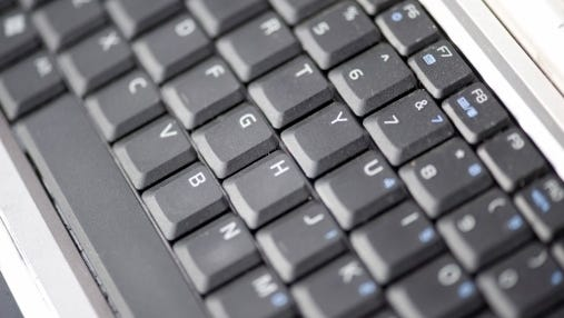 A stock image of a keyboard.