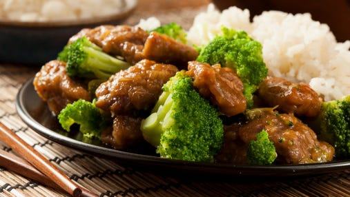 Homemade Asian Beef and Broccoli