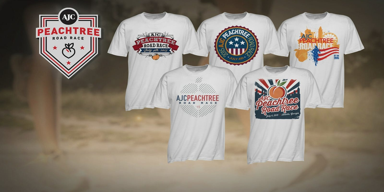 Vote For Your Favorite Peachtree T Shirt Design