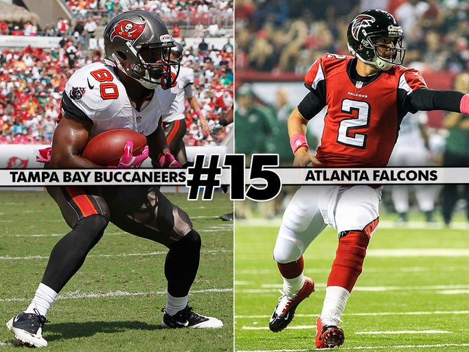 Surprising 1-4 Falcons come off bye to face winless Buccaneers. Something's got to give.