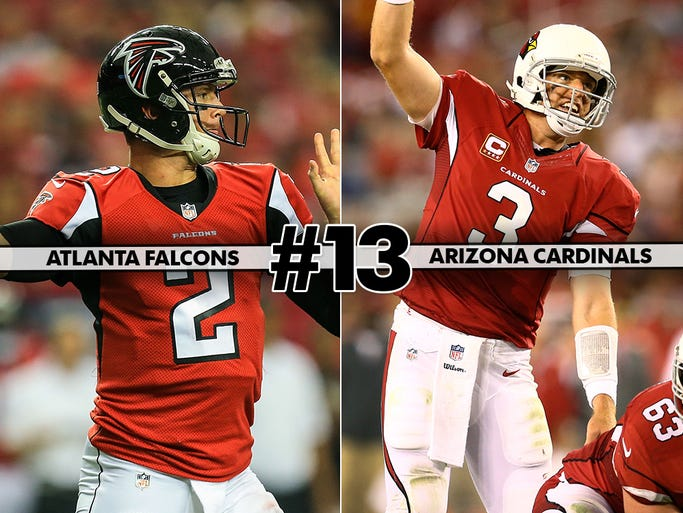 The Falcons look to make it two wins in a row against the struggling Cardinals.
