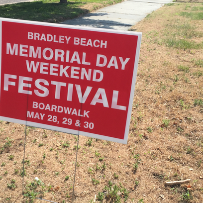 Parade at Bradley Beach Memorial Day Weekend Festival