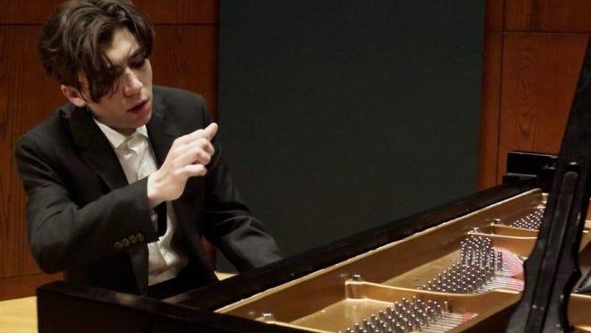 Pianist Alexei Aceto performs Saturday night in Binghamton.