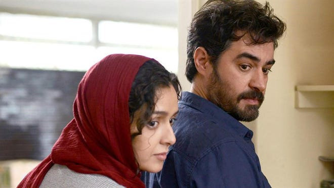 "In ""The Salesman,"" Emad (Shahab Hosseini) is starring with his wife (Taraneh Alidoosti) in a production of ""Death of a Salesman."""