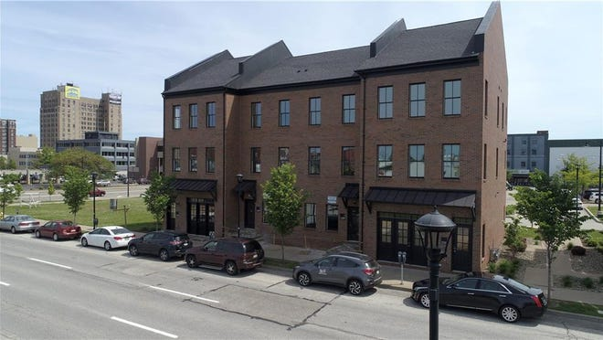 The condos at 1207 and 1219 Peach St., in Erie, are pending sales.