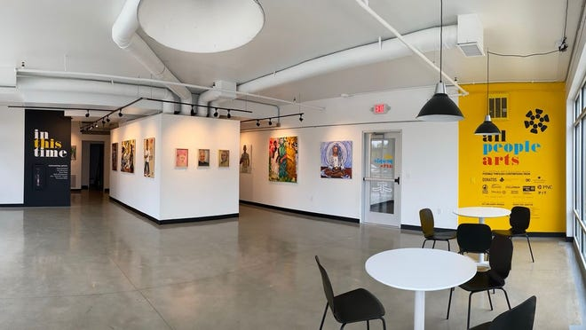 All People Arts, a new gallery located on the first floor of Parsons Village II on the South Side.