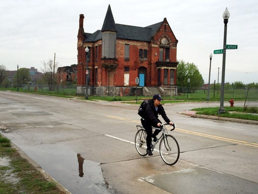 The Ransom Gillis House on the corner of Alfred and
