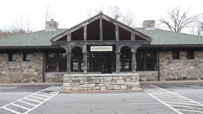 The Chappaqua train station.