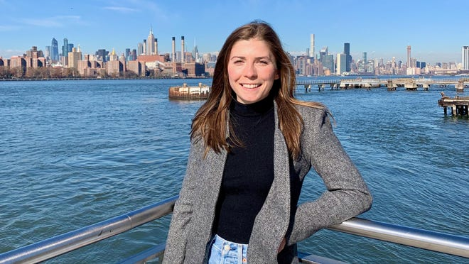 Milan graduate Kat Hoffman, a biostatistician at Weill Cornell Medicine, helped with the fight against COVID-19 in New York City.