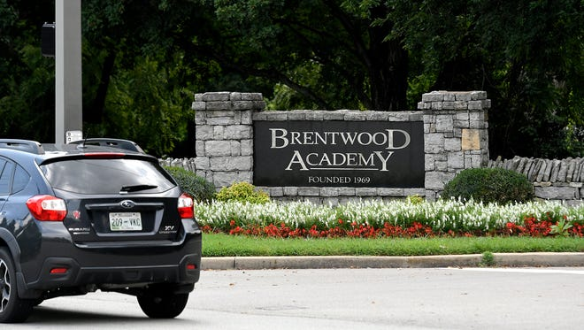 Brentwood Academy suspended four varsity boys basketball players, including the team's star, after a recent incident in a locker room that also caused the school to cancel a game last week.
