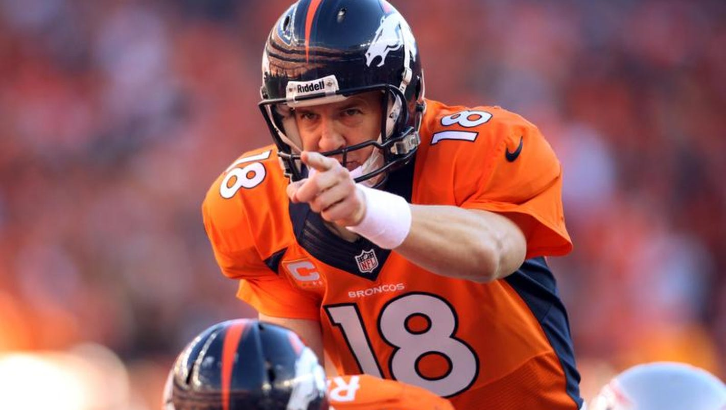 Peyton Manning, Broncos beat Patriots 26-16 to reach Super ...