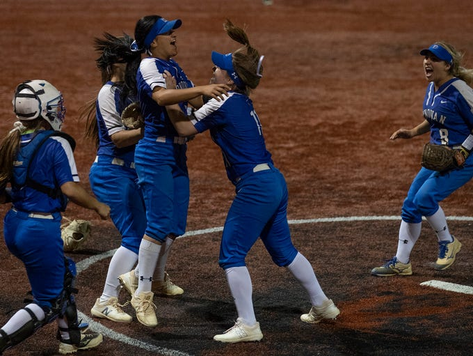 Donovan Catholic softball defeats St John Vianney 13-4