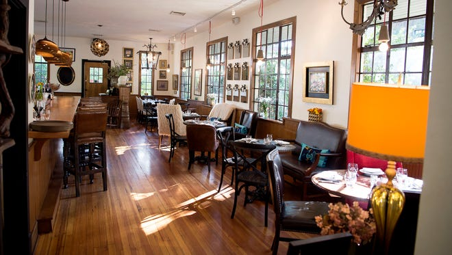 Golden Fleece Slow Earth Kitchen, near the Grove Park Inn in Asheville, suspended dining room service in mid-March.