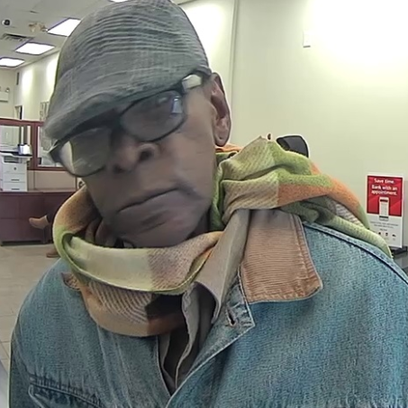 Police are seeking this man in connection with a bank